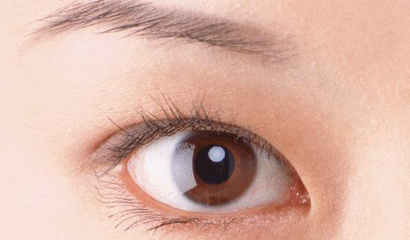 目に化粧品